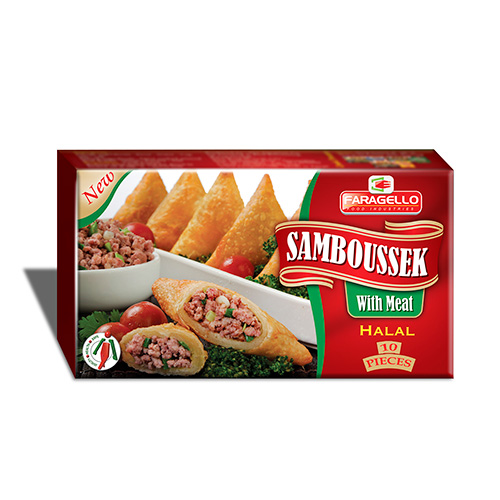 Samboussek With Meat