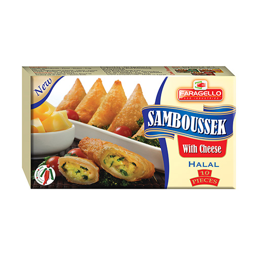 Samboussek With Cheese